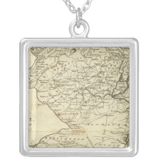 State of New Jersey Silver Plated Necklace