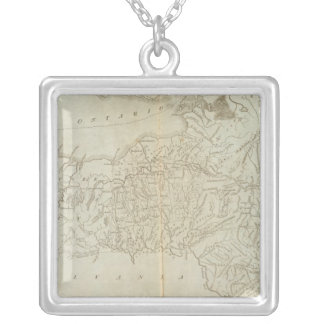 State of New York 2 Silver Plated Necklace