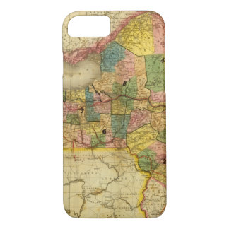 State of New York by DH Burr iPhone 8/7 Case