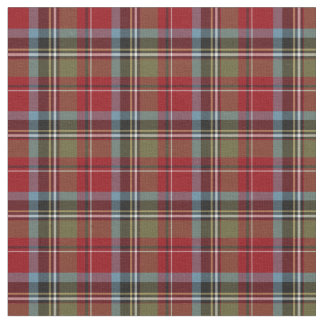 State of North Carolina Tartan Fabric