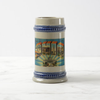 State of Ohio #2 OH Old Vintage Travel Souvenir Beer Stein