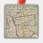 State of Ohio Christmas Ornament