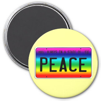 State of Peace Fridge Magnets