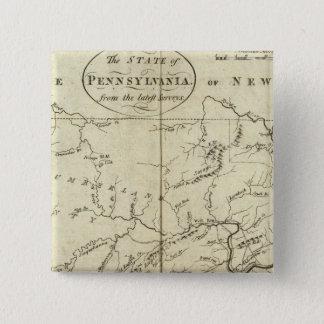 State of Pennsylvania 15 Cm Square Badge
