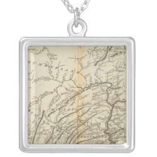 State of Pennsylvania 2 Silver Plated Necklace
