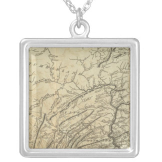 State of Pennsylvania Silver Plated Necklace