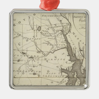 State of Rhode Island Christmas Ornament