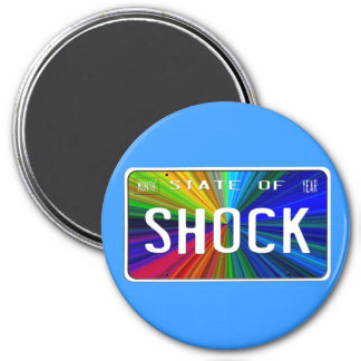 State of Shock Refrigerator Magnets