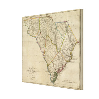 State of South Carolina Canvas Print