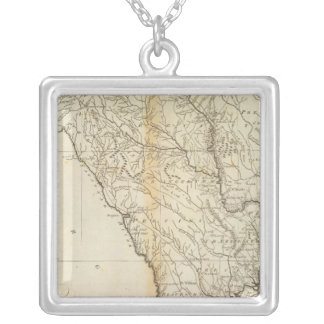 State of South Carolina Silver Plated Necklace