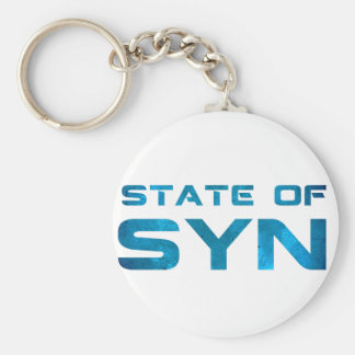 State Of Syn Swag Keychain