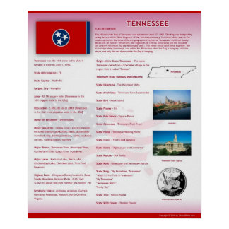 State of Tennessee,TN Posters