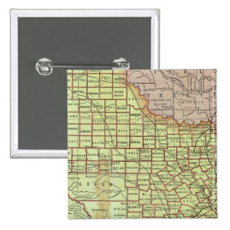 State of Texas 3 15 Cm Square Badge