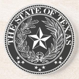 State of Texas Coaster Black