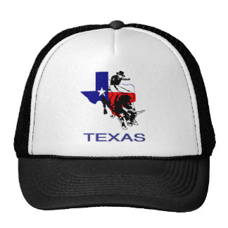 State of Texas Rodeo Bull Rider Hats