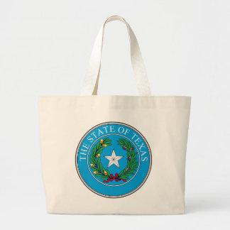 State of Texas Seal-Historical Jumbo Tote Bag