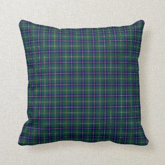 State of Washington Tartan Cushion