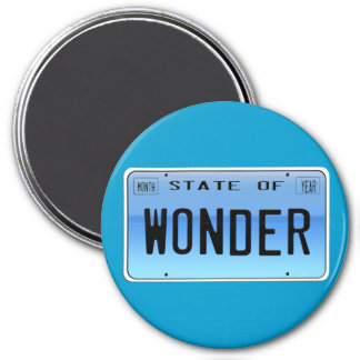 State of  Wonder Refrigerator Magnets