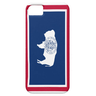State of Wyoming Flag Phone Cover