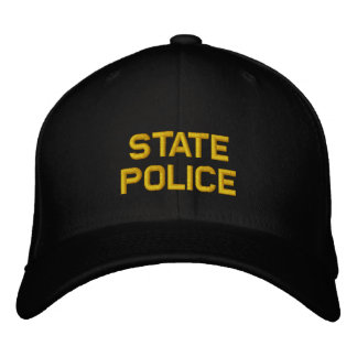 State Police Embroidered Hat