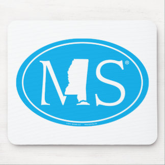State Pride Euro: MS Mississippi Mouse Mat