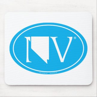 State Pride Euro: NV Nevada Mouse Mat