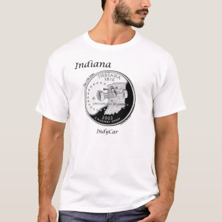 State Quarter - Indiana T-Shirt