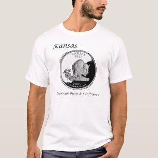 State Quarter - Kansas T-Shirt