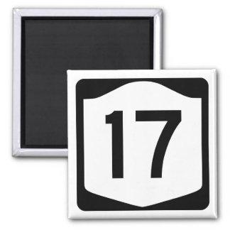 State Route 17, New York, USA Fridge Magnet
