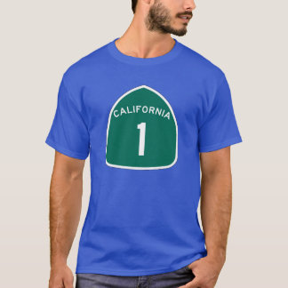 State Route 1, California, USA T-Shirt