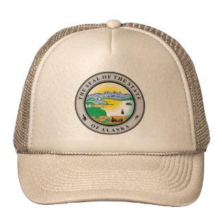 State Seal of Alaska Hats
