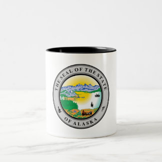 State Seal of Alaska Mugs