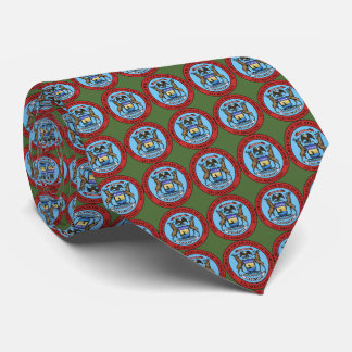 State Seal of Michigan Tie