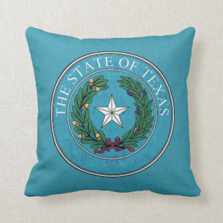 STATE SEAL OF TEXAS CUSHION