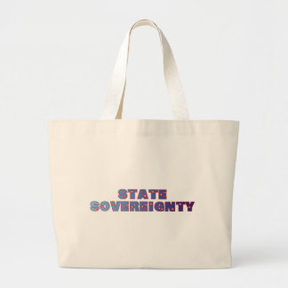 State Sovereignty Jumbo Tote Bag