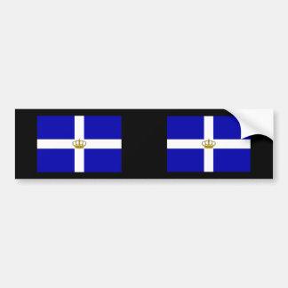 State   the Kingdom Greece, Greece Bumper Sticker