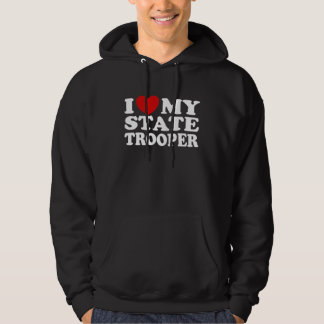 State Trooper Hooded Pullovers