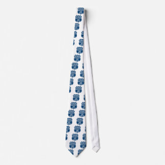 State Trooper Police Badge Protect and Serve Tie