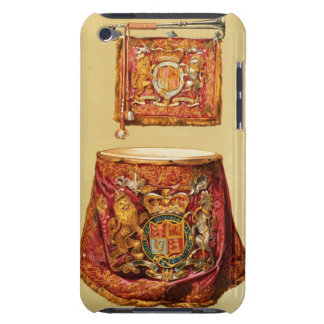 State trumpet, probably George III, and kettledrum iPod Touch Cover