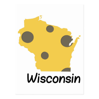 State Wisconsin Postcard