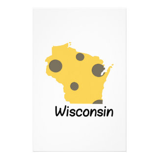 State Wisconsin Customized Stationery