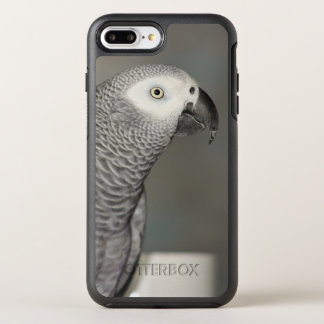 Stately African Grey Parrot OtterBox Symmetry iPhone 8 Plus/7 Plus Case