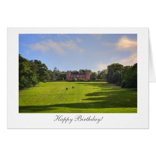 Stately Home - Happy Birthday Card