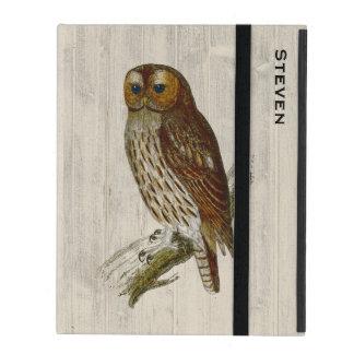 Stately Owl Custom iPad Case