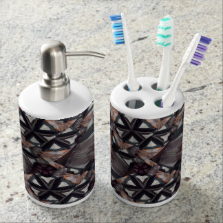 Stately Pearls collection bathroom set