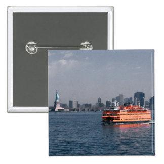 Staten Island Ferry Pinback Button