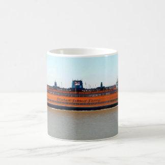 Staten Island Ferry Basic White Mug