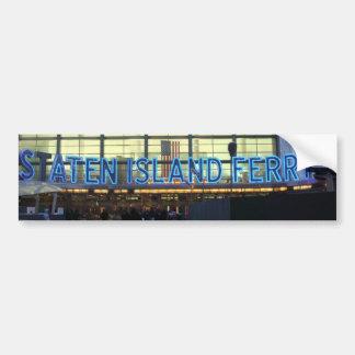 Staten Island Ferry Bumper Sticker