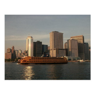Staten Island Ferry Twin Towers In Memoriam view Postcards