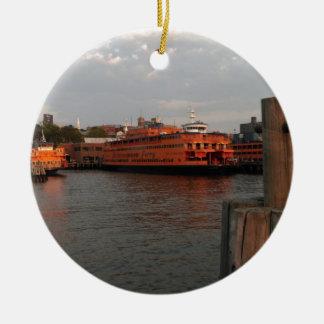 Staten Island Sunrise Christmas Ornament